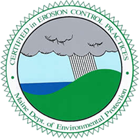 Maine DEP Certified in Erosion Control Practices